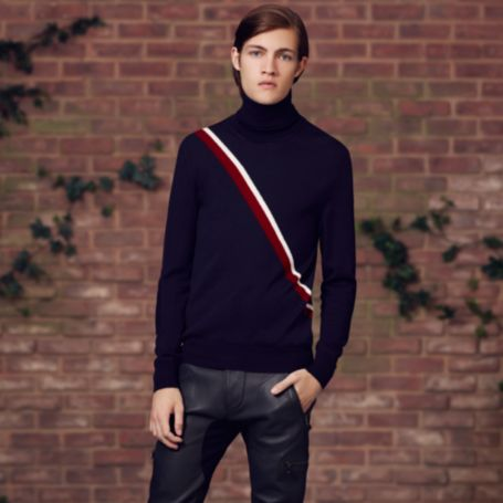 Image for RUNWAY STRIPE ROLLNECK from Tommy Hilfiger USA