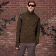 RUNWAY TURTLENECK SWEATER $249.99