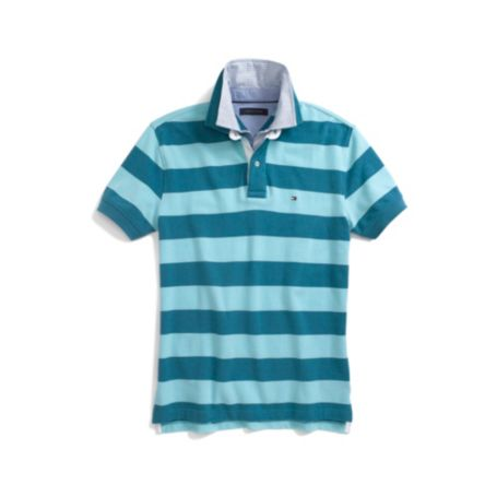 Image for DOUBLE COLLAR STRIPE POLO from Tommy Hilfiger USA