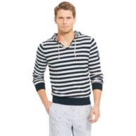 STRIPE HOODED SWEATER $119.99
