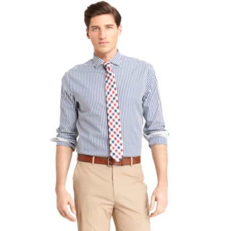 Image for NEW YORK FIT STRIPE SHIRT from Tommy Hilfiger USA