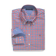 CUSTOM FIT MULTI CHECK SHIRT $78.00