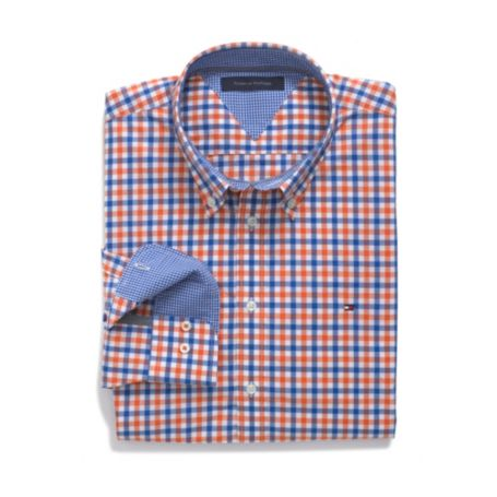 Image for CUSTOM FIT MULTI CHECK SHIRT from Tommy Hilfiger USA
