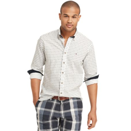 Image for CUSTOM FIT PRINTED SHIRT from Tommy Hilfiger USA
