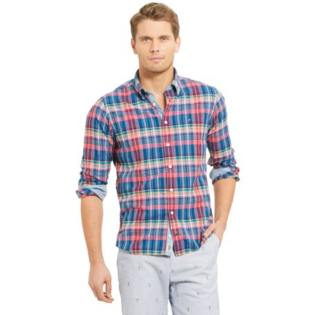 Image for CUSTOM FIT MADRAS WOVEN SHIRT from Tommy Hilfiger USA
