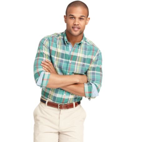 Image for NEW YORK FIT MADRAS PLAID SHIRT from Tommy Hilfiger USA