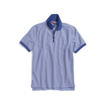 Image for STRIPE ZIP POLO from Tommy Hilfiger USA
