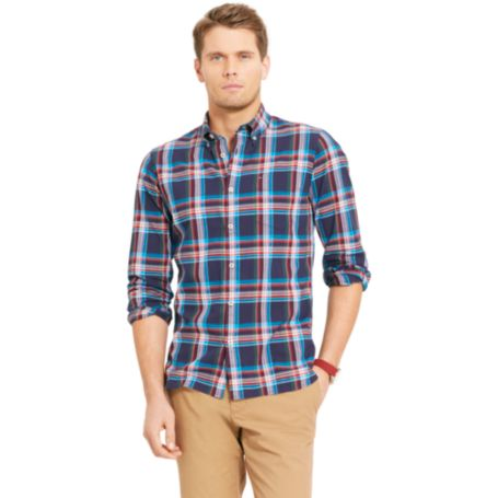 Image for CUSTOM FIT PLAID SHIRT from Tommy Hilfiger USA