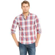 NEW YORK FIT PLAID SHIRT $34.99