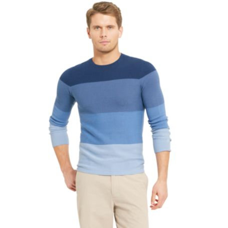 Image for OMBRE STRIPE VNECK SWEATER from Tommy Hilfiger USA