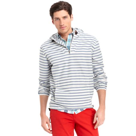 Image for STRIPE POPOVER JACKET from Tommy Hilfiger USA