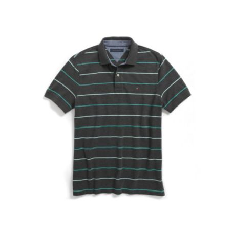 Image for PIQUE STRIPE POLO from Tommy Hilfiger USA