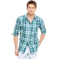 CLASSIC FIT PLAID SHIRT $42.00