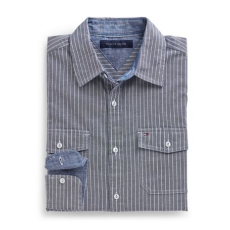 Image for CUSTOM FIT 2 POCKET SHIRT from Tommy Hilfiger USA