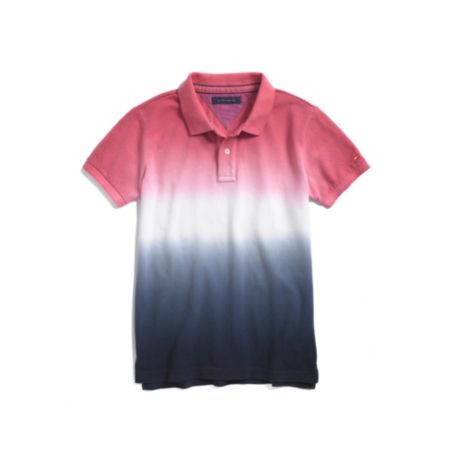 Image for DIP DYED POLO from Tommy Hilfiger USA
