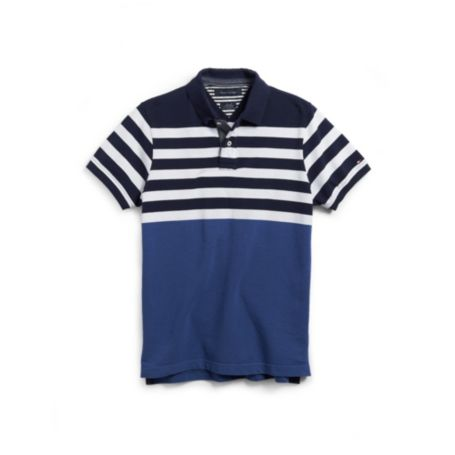Image for CHEST STRIPED POLO from Tommy Hilfiger USA