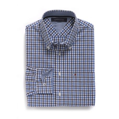 Image for CUSTOM FIT MINI CHECK SHIRT from Tommy Hilfiger USA