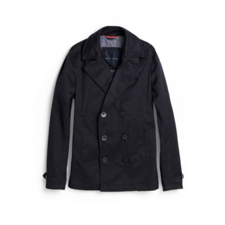 Image for LIGHTWEIGHT PEACOAT from Tommy Hilfiger USA