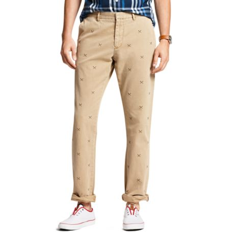 Image for EMBROIDERED PADDLE MERCER CHINO TWILL PANT from Tommy Hilfiger USA