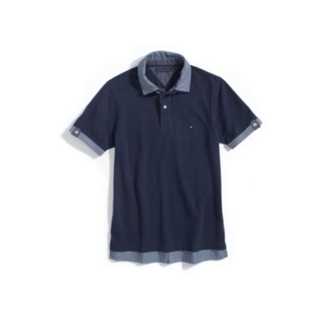 Image for DOUBLE LAYER POLO from Tommy Hilfiger USA