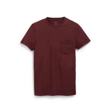 Image for CUSTOM FIT POCKET CREW NECK TEE SHIRT from Tommy Hilfiger USA