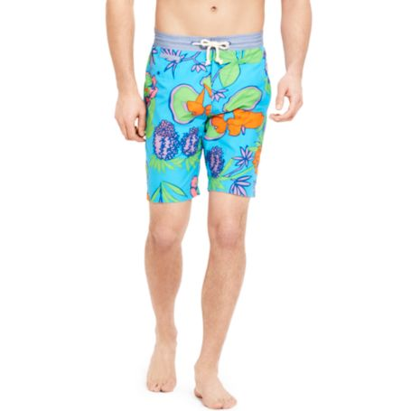 Image for FLORAL PRINT SWIM TRUNK from Tommy Hilfiger USA