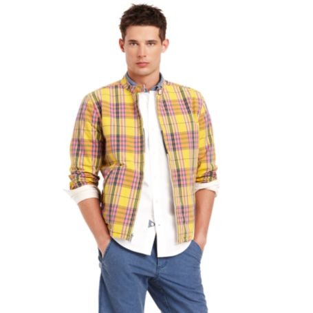 Image for REVERSIBLE PLAID JACKET from Tommy Hilfiger USA
