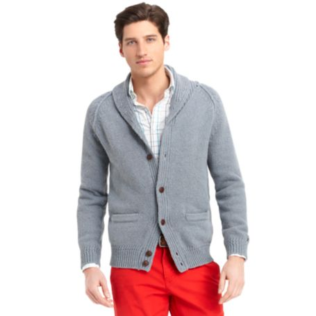 Image for SHAWL NECK CARDIGAN from Tommy Hilfiger USA