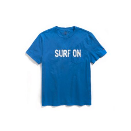 Image for SURF ON POCKET TEE from Tommy Hilfiger USA