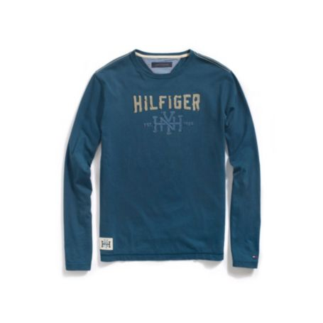Image for LONG SLEEVE HILFIGER TEE SHIRT from Tommy Hilfiger USA