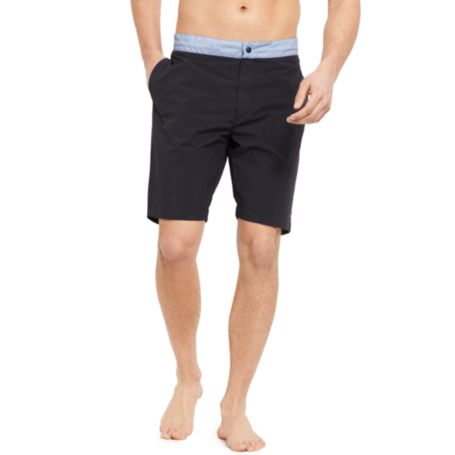 Image for SOLID NAVY SWIM TRUNK from Tommy Hilfiger USA