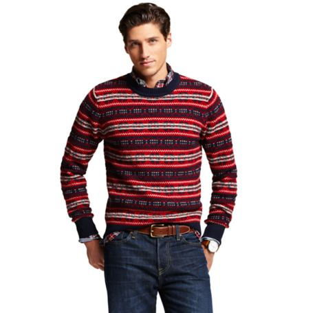 Image for FAIRISLE CREW NECK SWEATER from Tommy Hilfiger USA