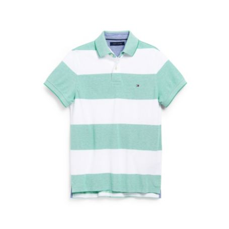 Image for OXFORD STRIPE POLO from Tommy Hilfiger USA