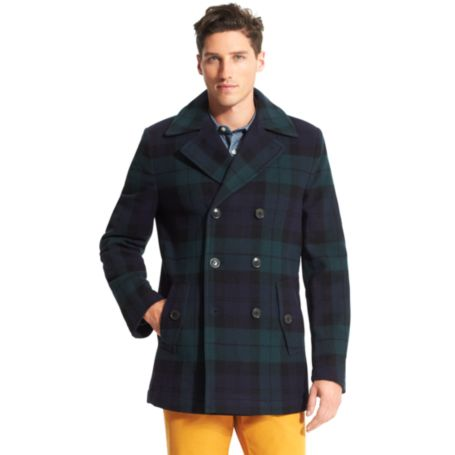 Image for BLACKWATCH PEACOAT from Tommy Hilfiger USA
