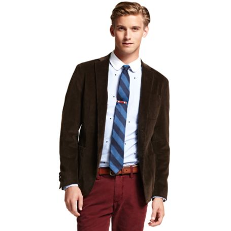 Image for CORD BLAZER from Tommy Hilfiger USA