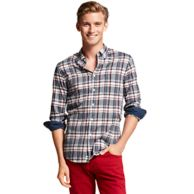 NEW YORK FIT PLAID SHIRT $59.99