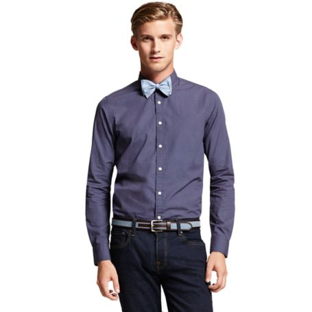 Image for SLIM FIT CROSS PRINTED SHIRT from Tommy Hilfiger USA