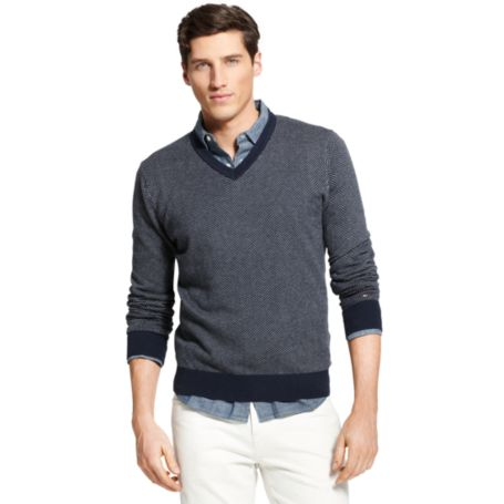 Image for COTTON CASHMERE SWEATER from Tommy Hilfiger USA