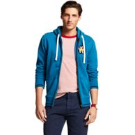 FULL ZIP CHEST PATCH FLEECE $129.00