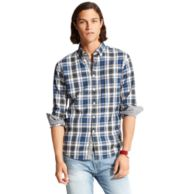 NEW YORK FIT PLAID SHIRT $89.00