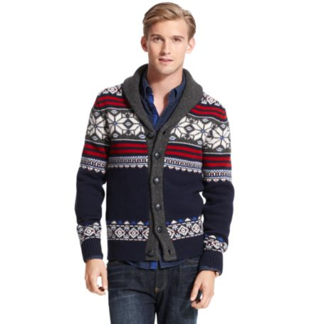 Image for FAIRISLE CARDIGAN SWEATER from Tommy Hilfiger USA
