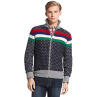 ZIP UP SWEATER $139.99