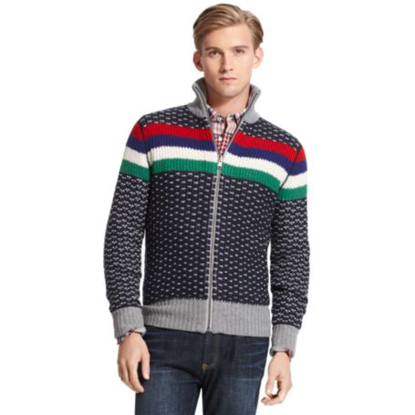 Image for ZIP UP SWEATER from Tommy Hilfiger USA