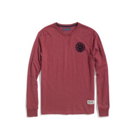 Image for LONG SLEEVE SOLID TEE from Tommy Hilfiger USA