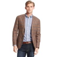 WOOL CHECK SUIT JACKET $169.97