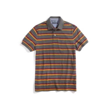 REGULAR FIT STRIPE RUGBY