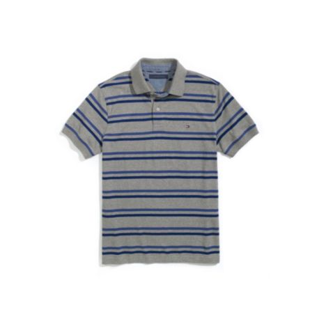 Image for CUSTOM FIT JERSEY STRIPE POLO from Tommy Hilfiger USA