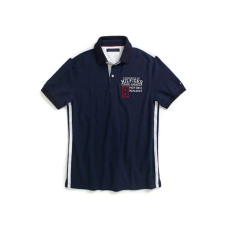 Image for CUSTOM FIT GRAPHIC POLO from Tommy Hilfiger USA