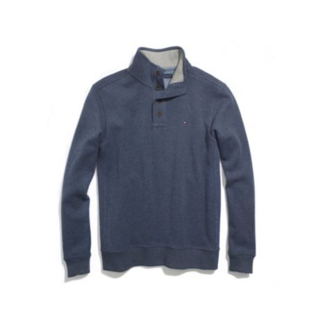 Image for FRENCH RIB MOCK NECK KNIT from Tommy Hilfiger USA