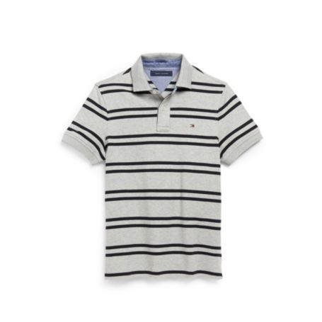 Image for CUSTOM FIT INTERLOCK STRIPE POLO from Tommy Hilfiger USA